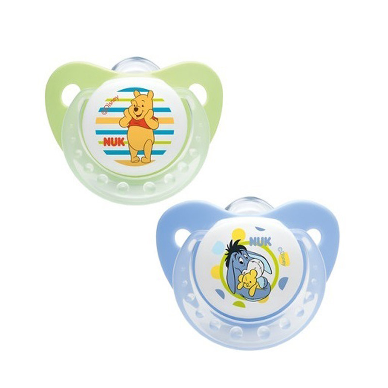 Disney Silicone Soother 2pk 0-6 month