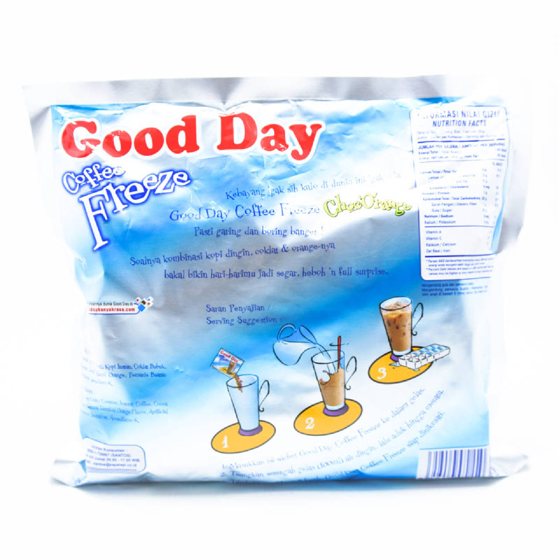 Good Day Freeze Choorange Bag 10x30g