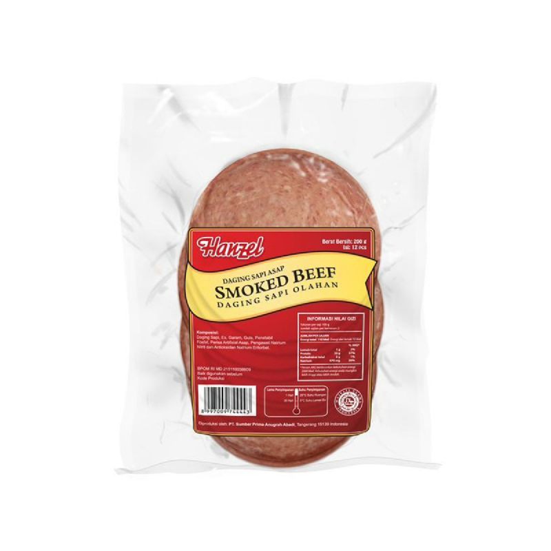 Hanzel Smoked Beef 200Gr