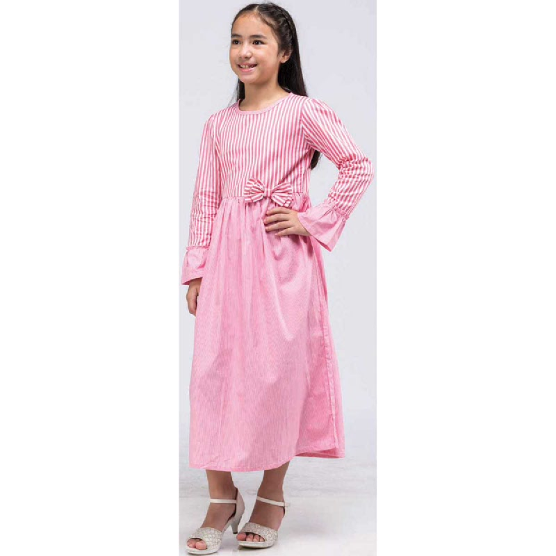 Barbie Gamis Lebaran Pink Size L