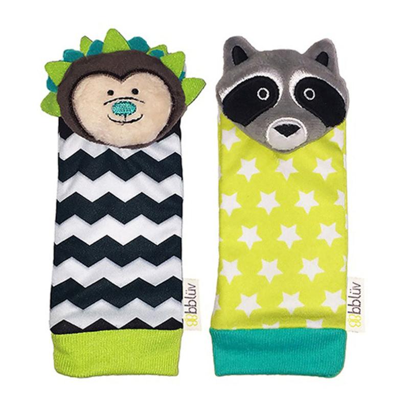 BBLUV Foot Finders - Hedgehog & Racoon