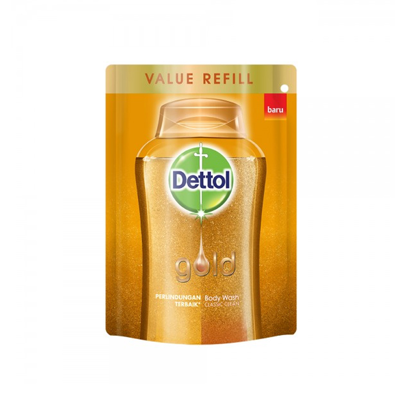 Dettol Gold Body Wash Classic Clean Pouch 250Ml