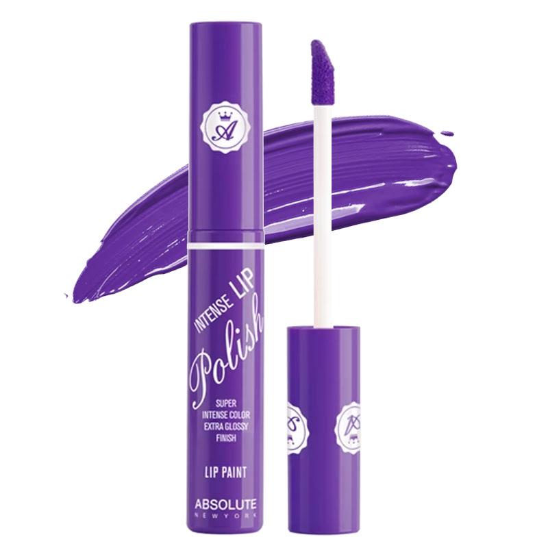 Absolute New York Intense Lip Polish Lip Paint Purple Passion
