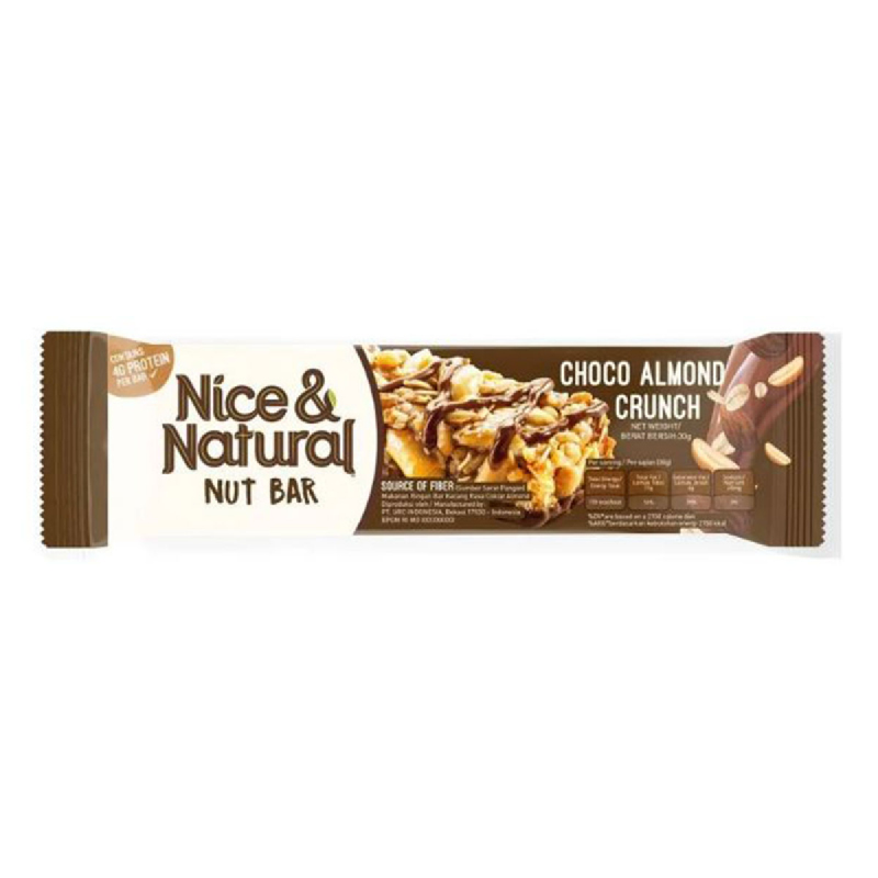 Nice & Natural Choco Almond 30 Gr