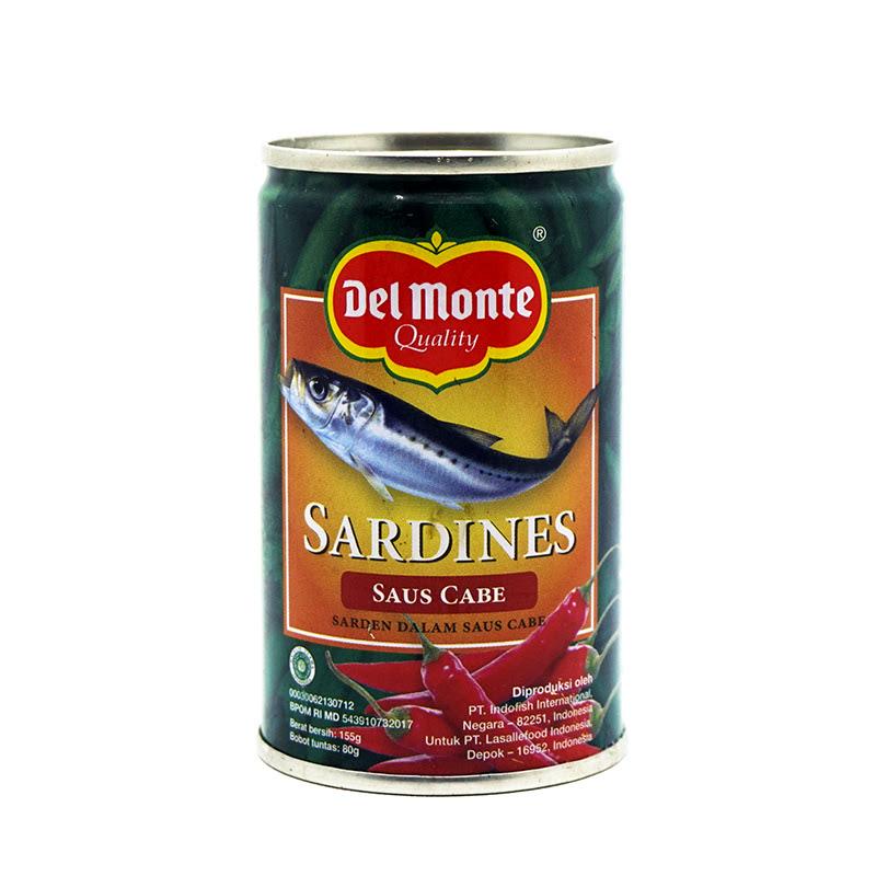 Delmonte Sardines Chili 155Gr