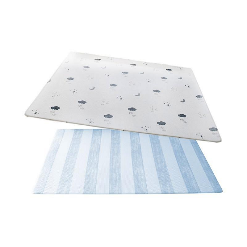 Ggumbi Licoco PVC Playmat Springsky Alas Lantai - White Light Blue