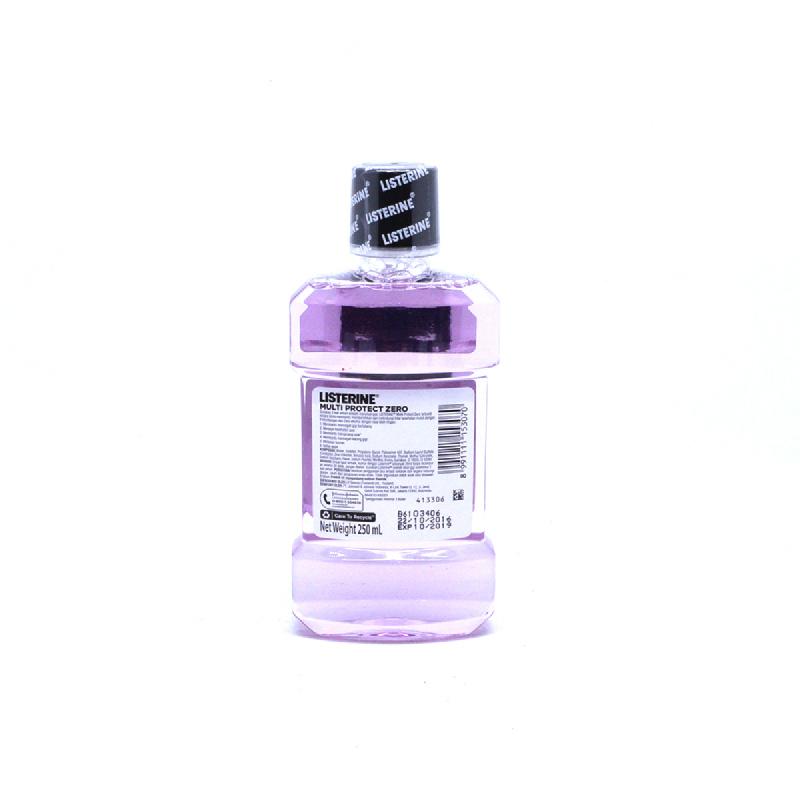 Listerine Mw Multi Protect Zero 250 Ml
