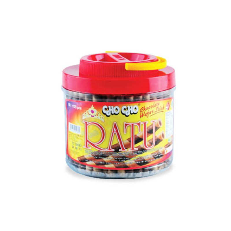 Cho Cho Wafer Stick Ratu Chocolate 350 Gr