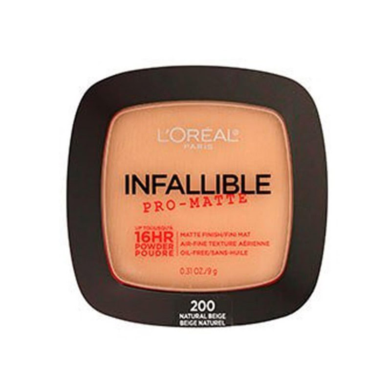 Loreal Face Powder Infallible Pro-Matte 16Hr - 200 Natural Beige
