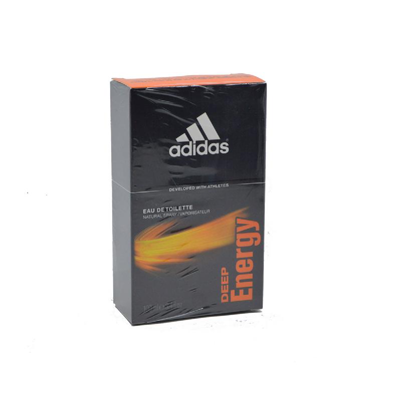 Adidas Men EDT Deep Energy 100Ml