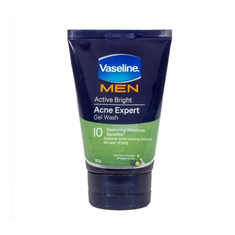Vaseline Men Gel Wash Acne Expert 100 Gr