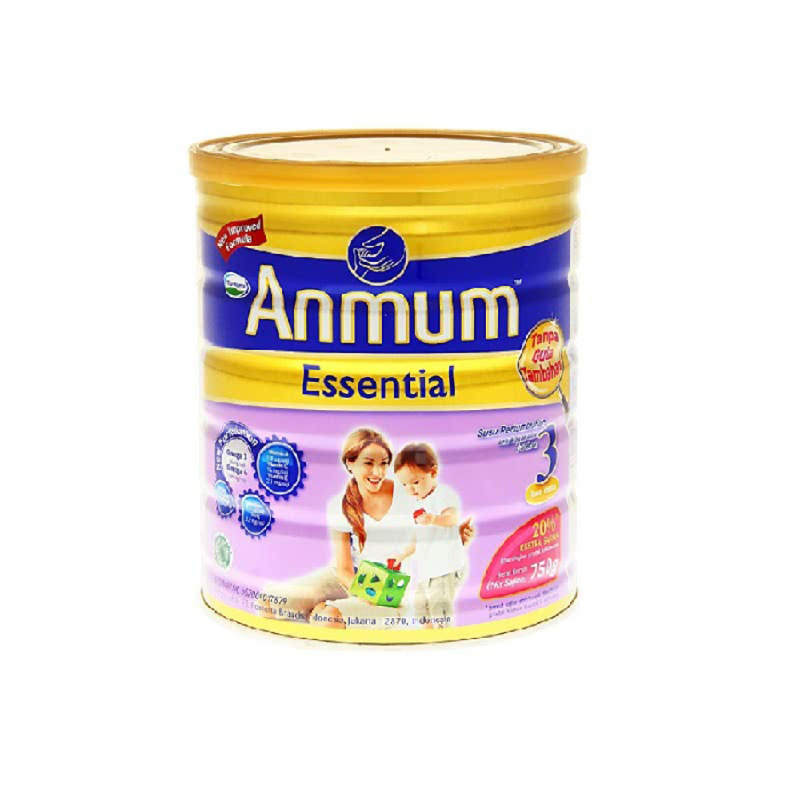 Anmum Susu Bubuk Essential 3 Madu Tin 750G