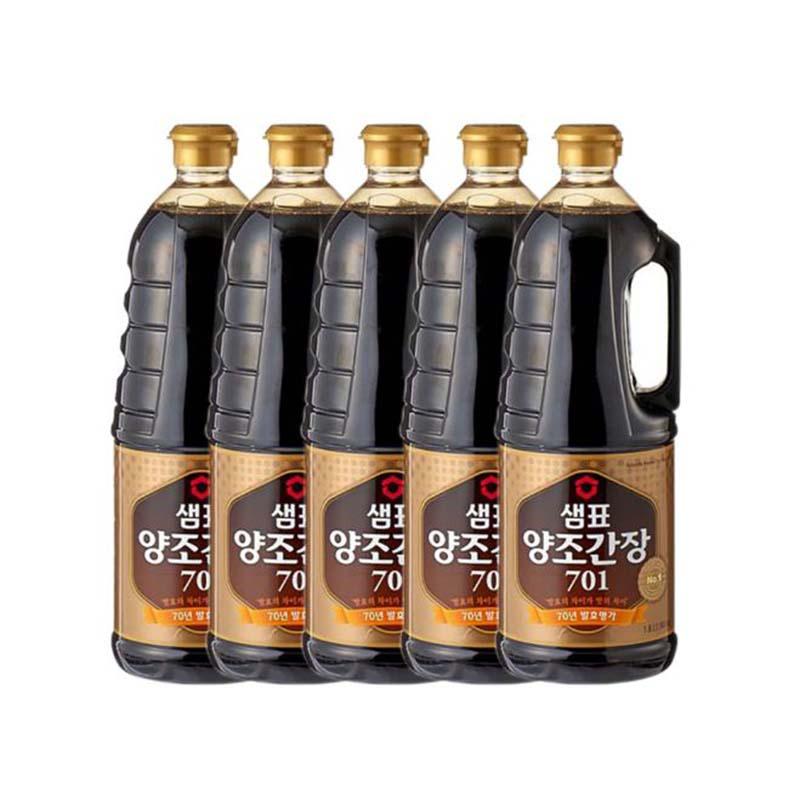 Naturally Brewed Soysauce 701 1.8 L 5 Pcs