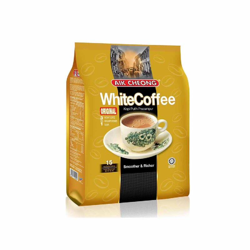 Aik Cheong White Coffe Instant Bag 15X40