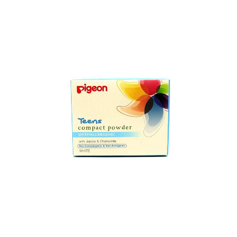 Pigeon Compact Powder Hypoallergenic White 14 Gr
