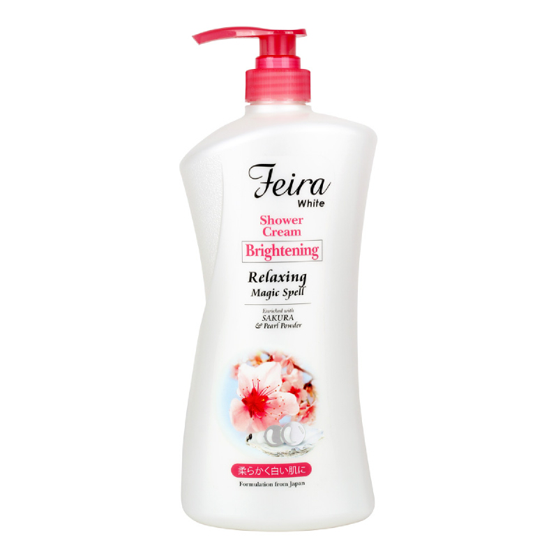 FEIRA White Sakura Shower Cream 1000Ml