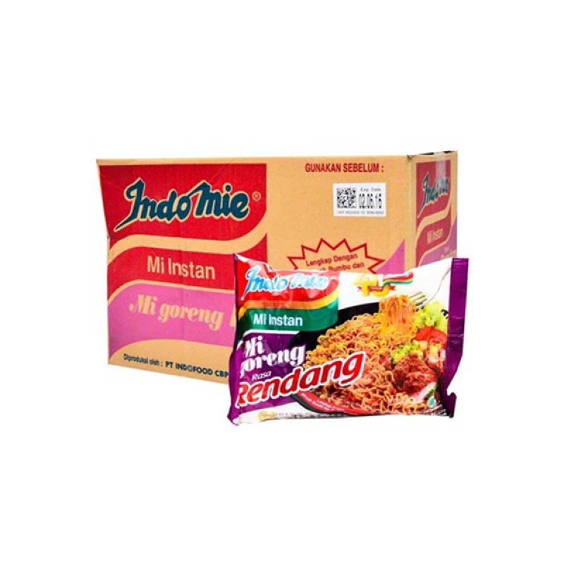 Indomie Mie Instant Goreng Rendang 91 Gr (1 Karton)