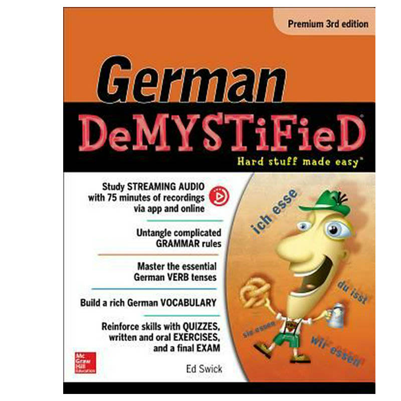 German Demystified, Premium 3rd Edition (Demystified Language)