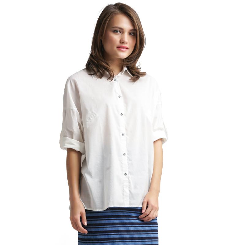 Minimal OverSize T-Shape Shirt OFFWHITE