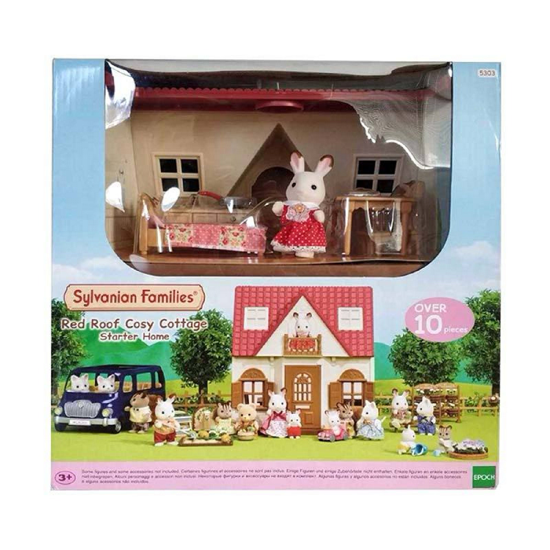Sylvanian Families Red Roof Cosy Cottage ESFH53030