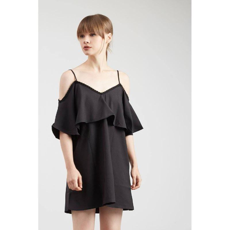 Gwen Hamm Dress in Black
