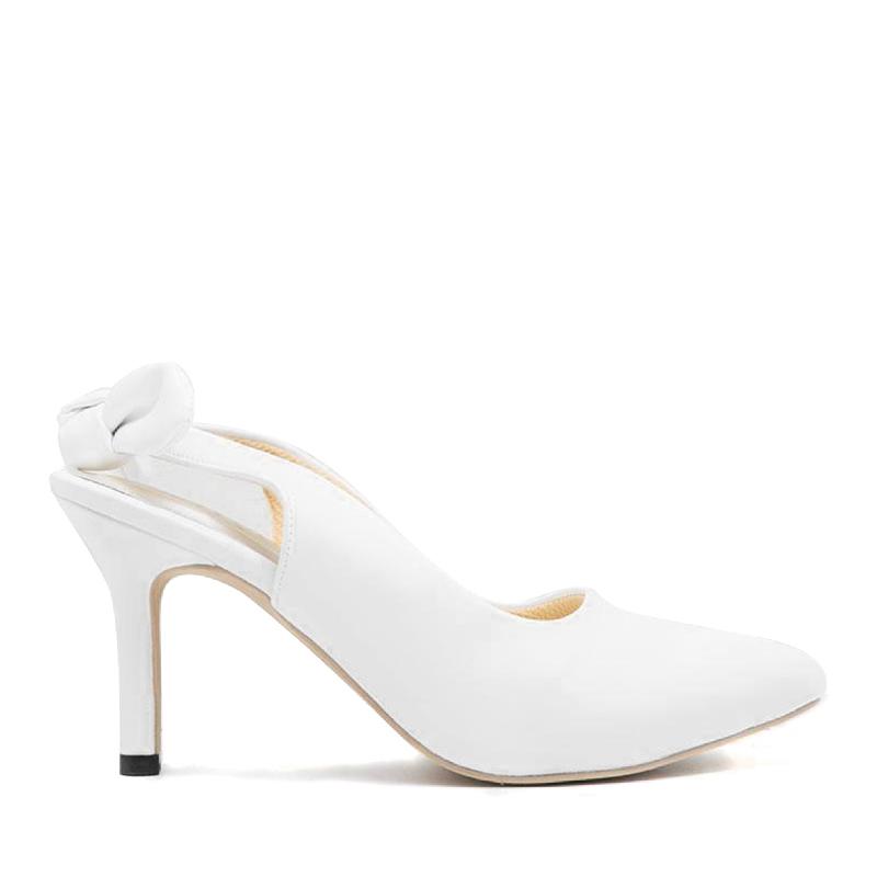 Alivelovearts Heels Lolita White