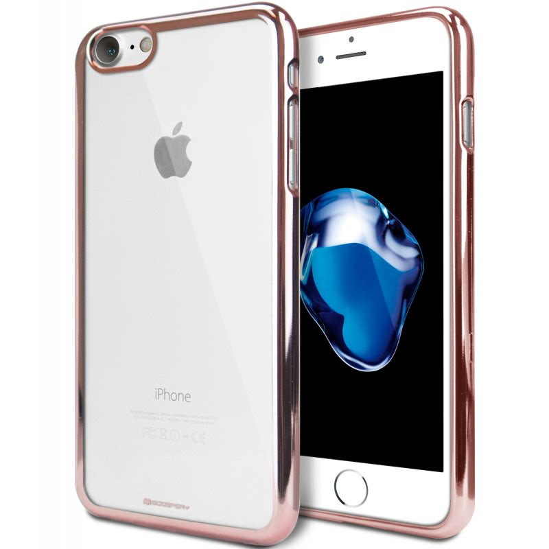 Goospery Ring 2 Jelly for iPhone 7 - Rose Gold