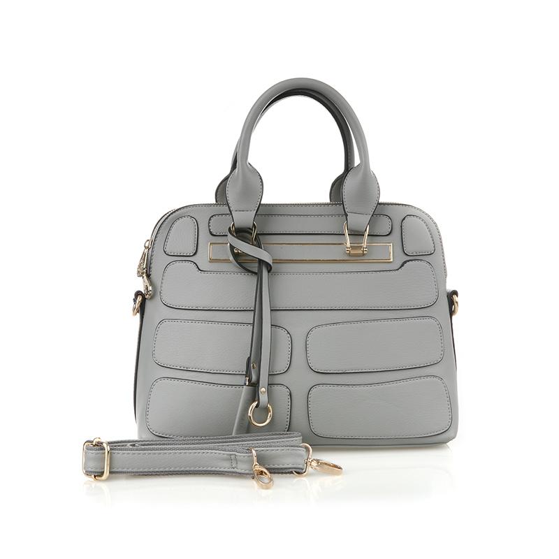 Bellezza Hand Bag 1819-38 Grey