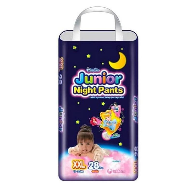 Mamypoko Junior Pants Night Xxl 28 S Girl