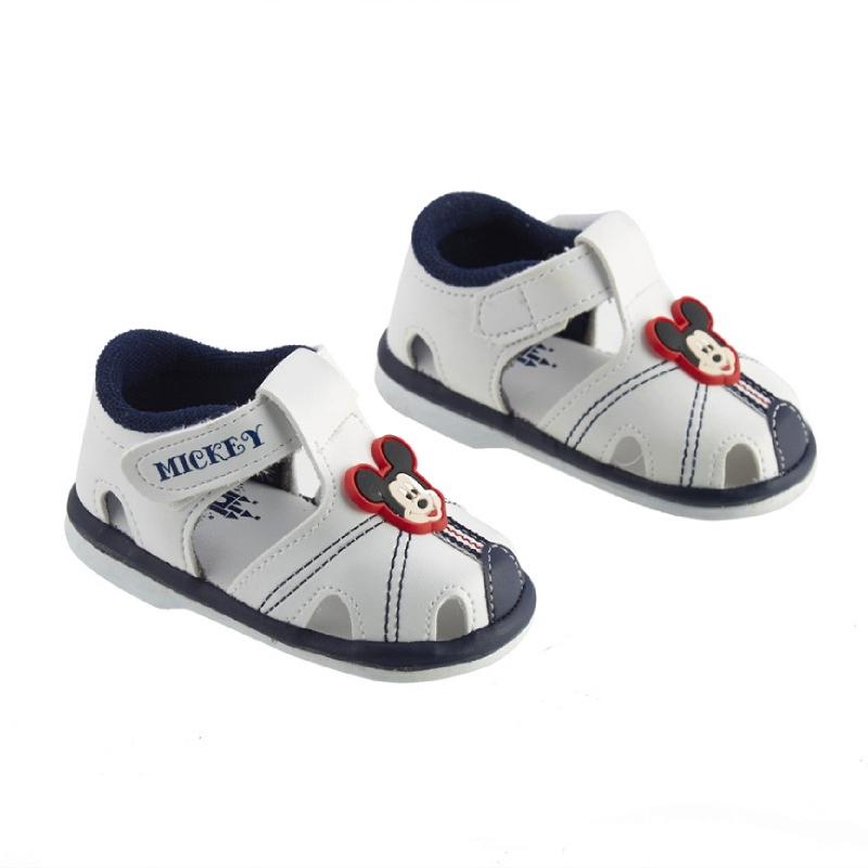 Mickey & Friend Baby Prewalker Shoes Putih