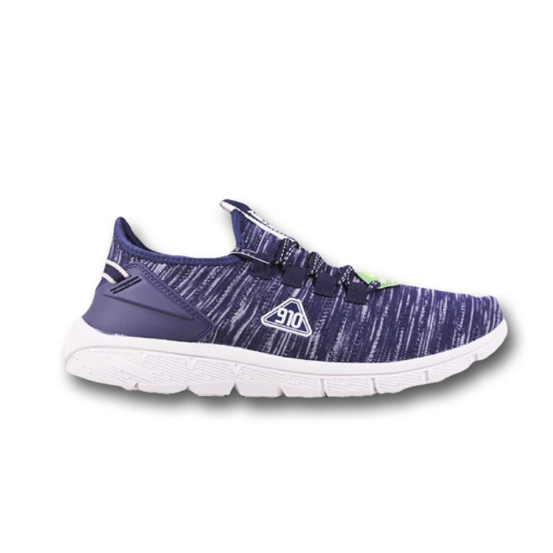 910 NINETEN Amaru Sepatu Running Unisex Biru Abu