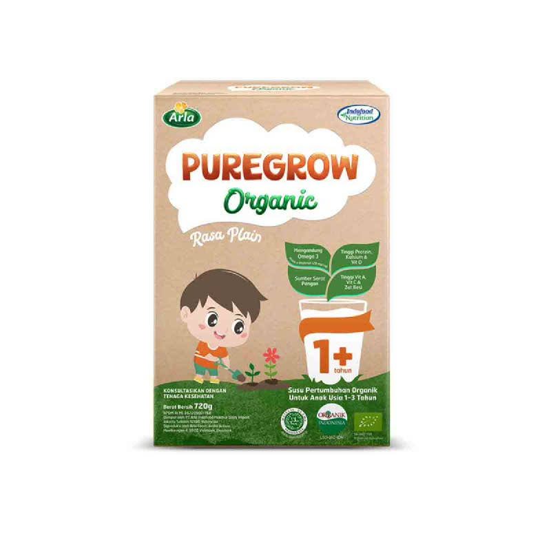 Arla Puregrow Boy 1+ 720Gr