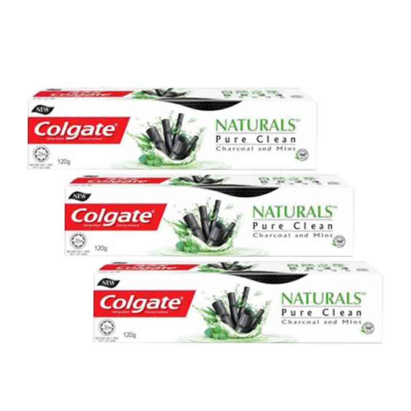 Colgate Toothpaste Natural Charcoal 120 Gr (Buy 2 Get 1)