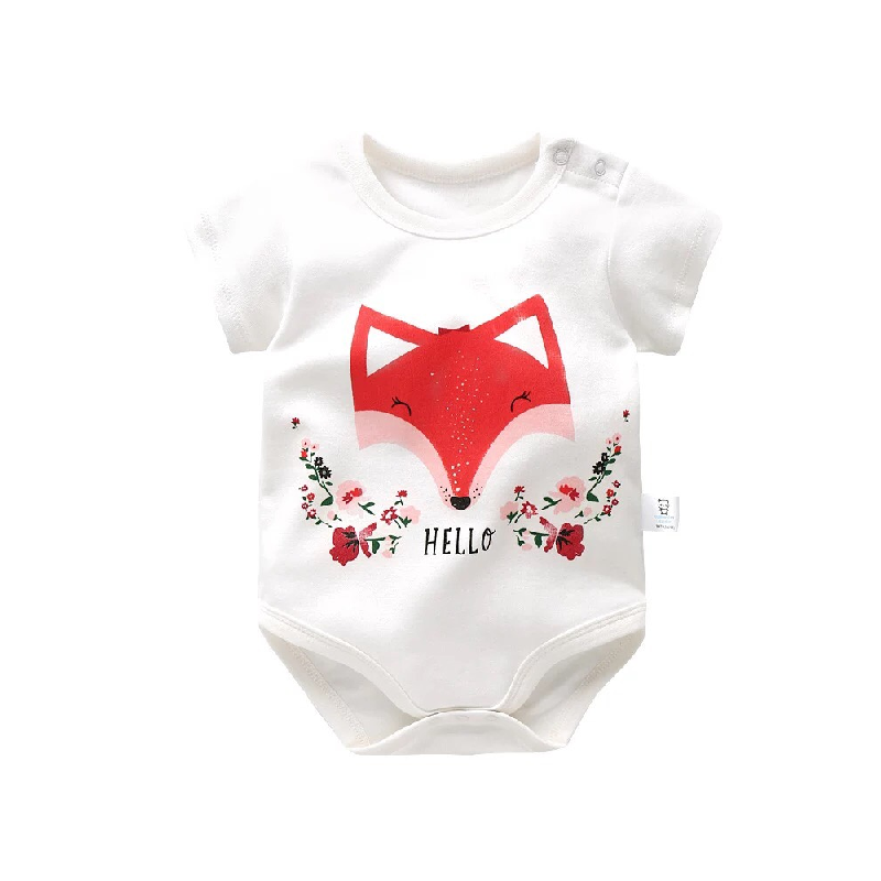BabyLand Hello Foxy Baby Romper HFR001