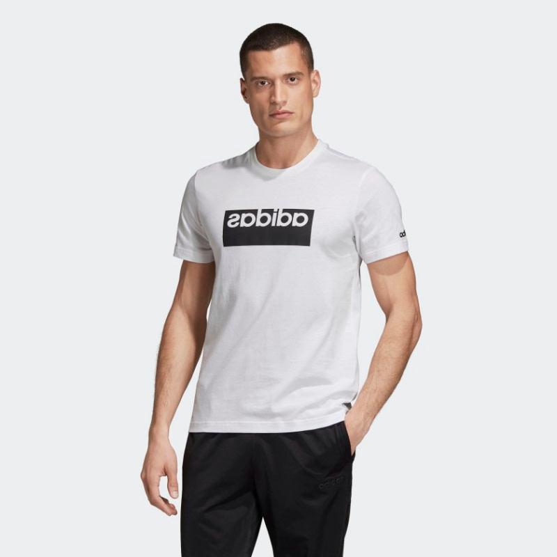 Adidas Mirror Logo Box Graphic Tee EI4563