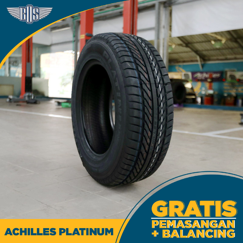 Ban Achilles Platinum - 195-65 R15 91V - GRATIS PASANG DAN BALANCING