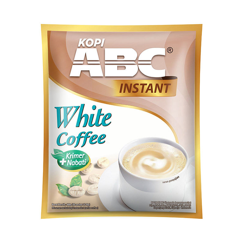 Abc White Coffe Instant Bag [20X20Gr]