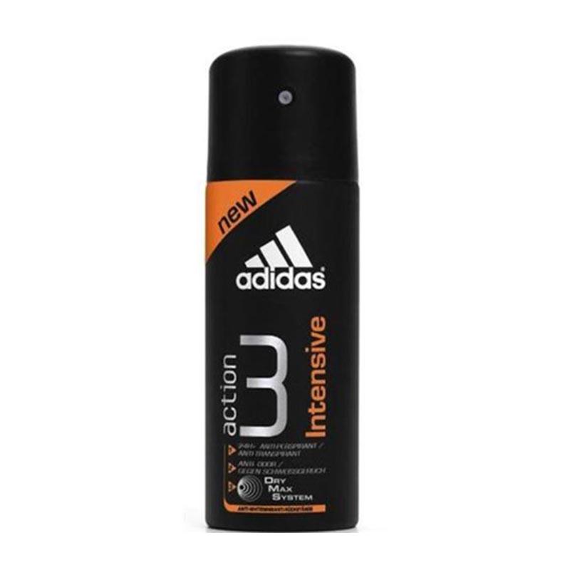 Adidas Men Deo Spray Action 3 Intens 150Ml
