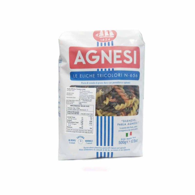 Agnesi Eliche Tricolori 500 Gr