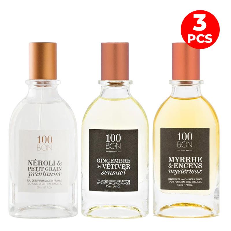 100bon 50ml Fragrance Set 1