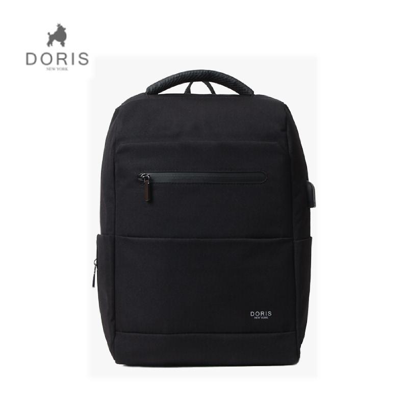 Doris New York DN B-16006 Casual Crone Backpack - Black