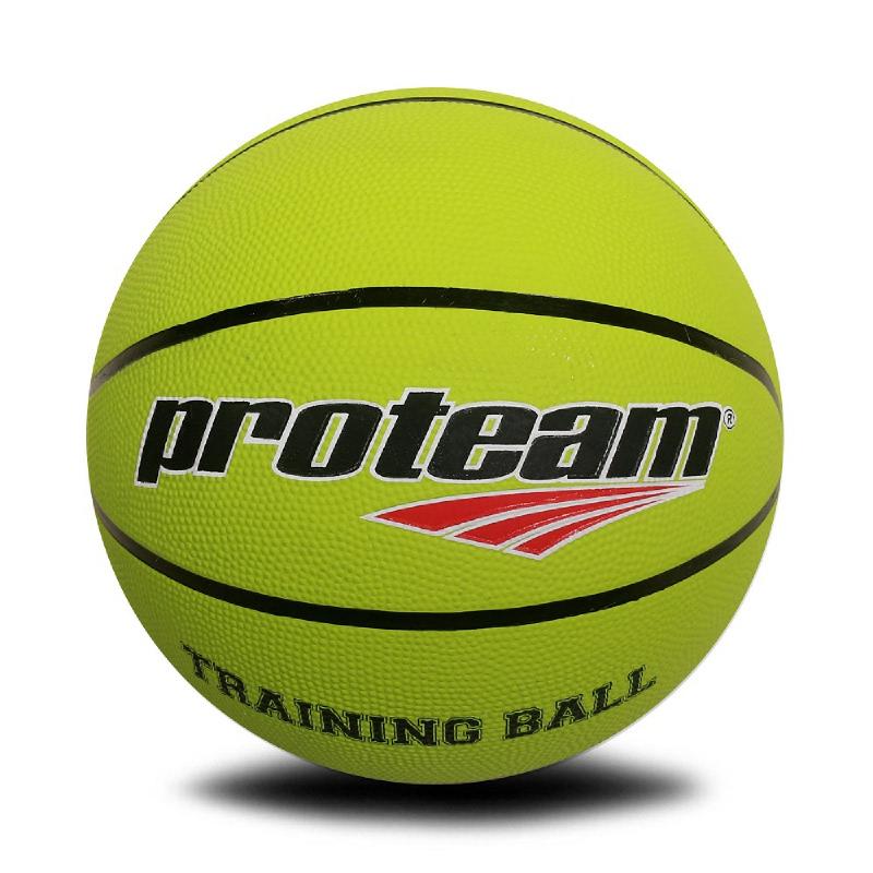 PROTEAM Basket Rubber Training Ball Green Stabilo 4 Kg