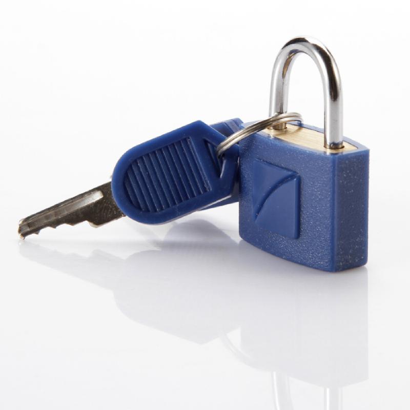 Travel Blue 024 Gembok Kunci Identifikasi 2x – Blue