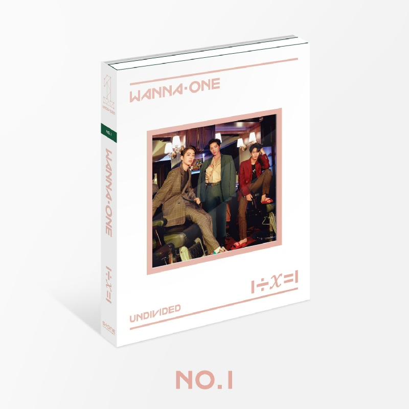 [CD] Wanna One - Special Album - UNDIVIDED (No.1 ver.)