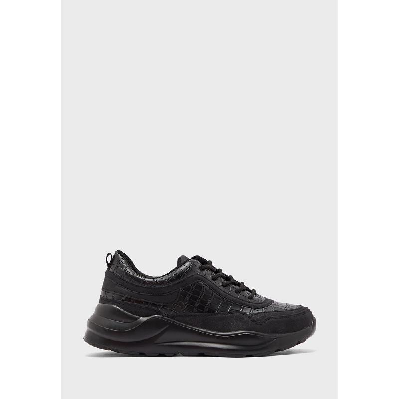 ALDO Ladies Footwear Sneakers BINX-001-Black