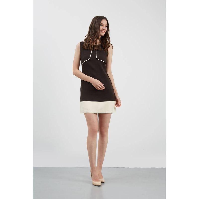 GW Gesell Dress in Brown
