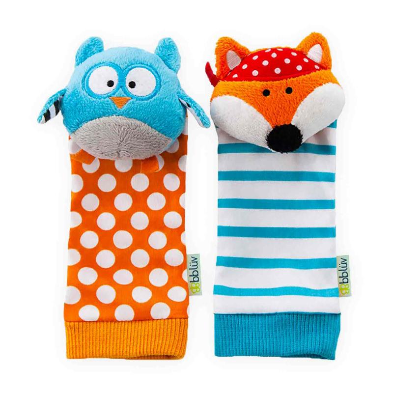 BBLUV Foot Finders - Owl & Fox