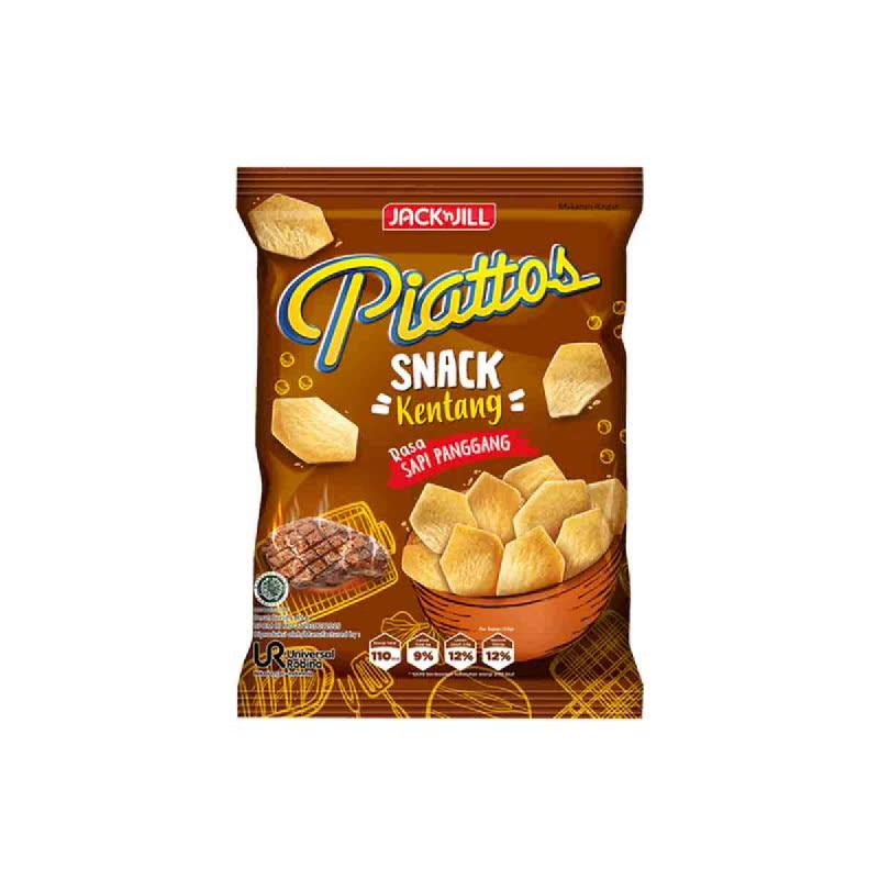Piattos Snack Kentantg Rasa Sapi Panggang 80 Gr