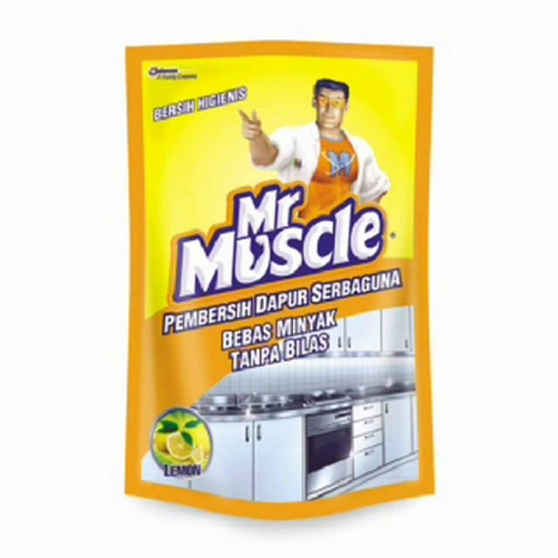 Mr. Muscle Kitchen  Lemon  Pouch 400 Ml