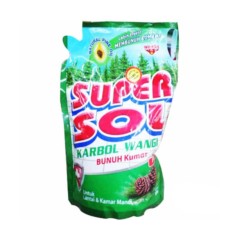 Super Sol Karbol Pouch 800 Ml